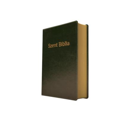 Szent Biblia – Patmos, Károli, sötétzöld, arany (prémium, kicsi)
