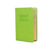 Szent Biblia – Patmos, Károli (mini) almazöld