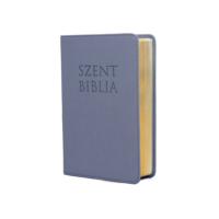 Szent Biblia – Patmos, Károli (mini) metál kék