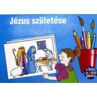 Pontról-pontra kifestő – Jézus születése