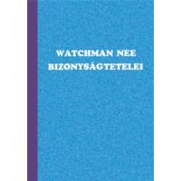 Watchman Nee bizonyságtételei (antikvár)