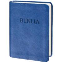 Biblia – revideált új fordítás (RÚF), kék, puhatáblás, zsebméretű