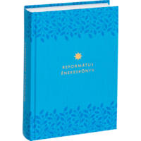 Református énekeskönyv (világoskék, mintás)