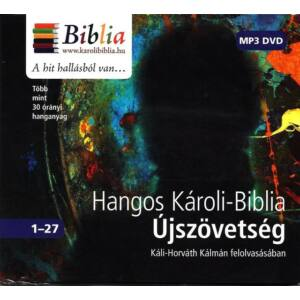 Hangos Károli-Biblia – Újszövetség MP3 DVD