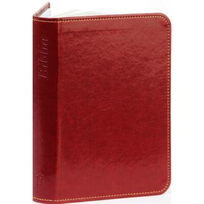 Biblia – új Károli, bordó, varrott, arany, kicsi