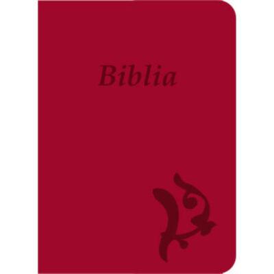 Biblia – új Károli, ciklámen, varrott, nagy