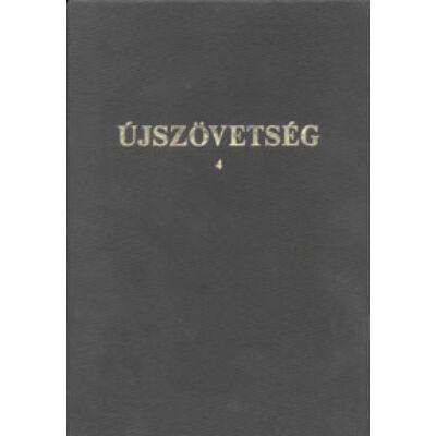 Újszövetség 4 – Gyengénlátóknak (Gal-Jel)