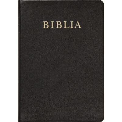 Biblia – revideált új fordítás, bőrkötés, aranymetszés, közepes