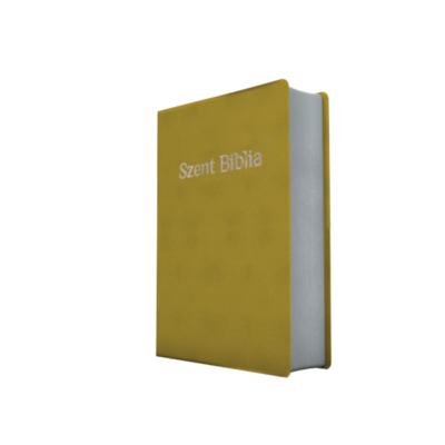 Szent Biblia – Patmos, Károli, világoszöld, ezüst (prémium, kicsi)
