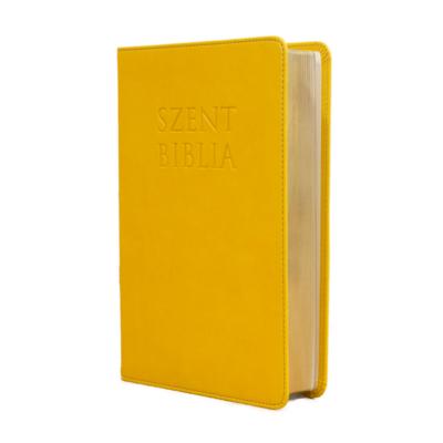 Szent Biblia – Patmos, Károli (közepes) napsárga
