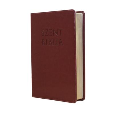 Szent Biblia – Patmos, Károli (nagy) bordó, regiszteres
