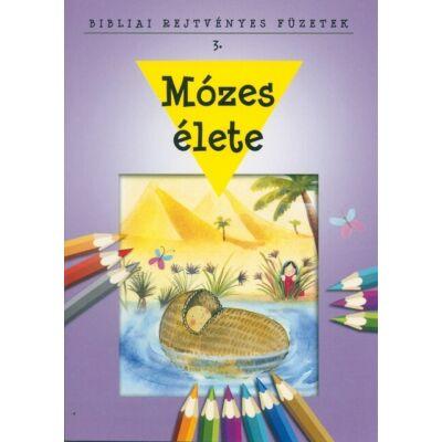 Bibliai Rejtvényes Füzetek – Mózes élete
