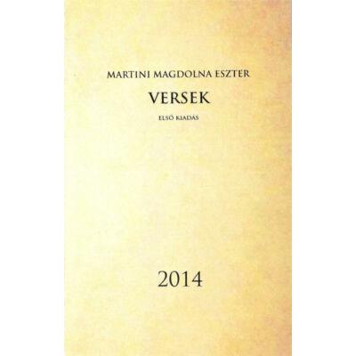 Martini Magdolna Eszter: Versek