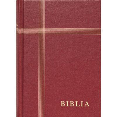 Biblia – revideált új fordítás (RÚF), bordó, vászonkötés, közepes
