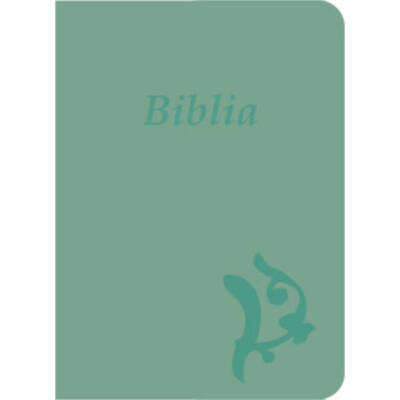 Biblia – új Károli, olíva, varrott, nagy