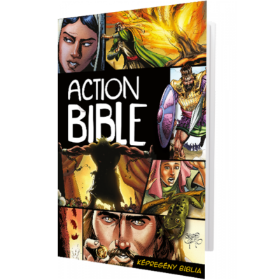 Action Bible – Képregény Biblia (keménytáblás, teljes)