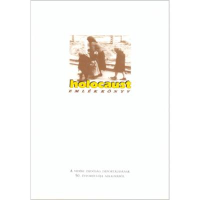 Holocaust emlékkönyv (antikvár)