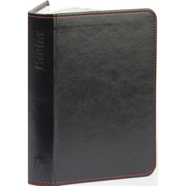 Biblia – új Károli, sötétkék, varrott, arany, nagy