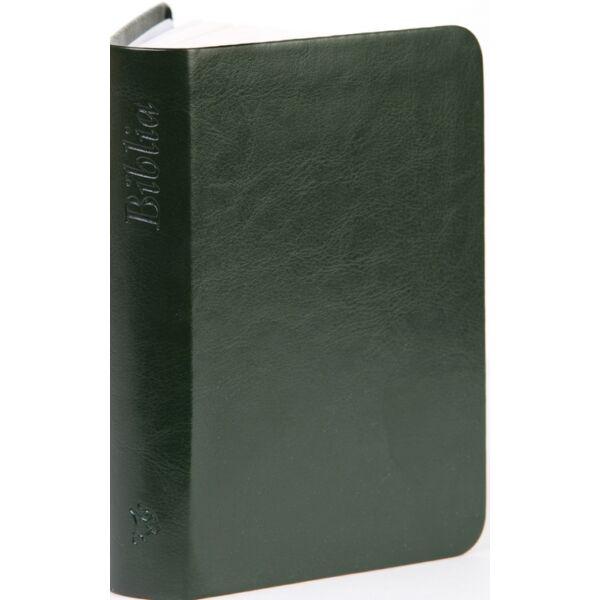 Biblia – új Károli, sötétzöld, nagy