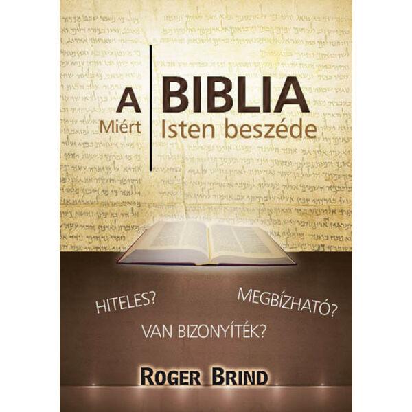 A Biblia miért Isten beszéde